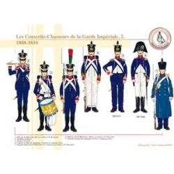 Les Conscrits-Chasseurs de la Garde Impériale (2), 1808-1810