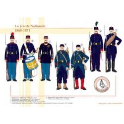 La Garde Nationale, 1868-1871