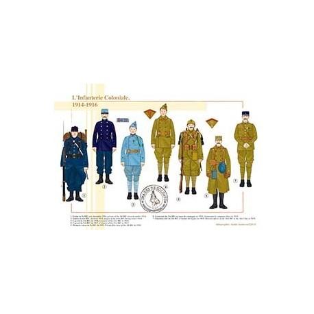 L'Infanterie Coloniale, 1914-1916