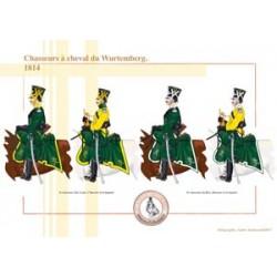 Chasseurs à cheval du Wurtemberg, 1814