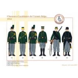 Chasseurs-Carabiniers de l'Armée Belge, 1914