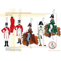 Departmental Honor Guard, 1805-1812