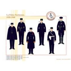 Die parisische Polizei, 1950-1968