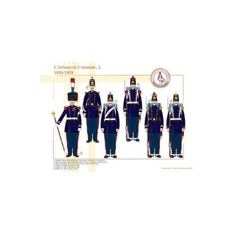 L'Infanterie Coloniale (2), 1850-1858