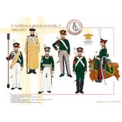 L'Artillerie à pied de la Garde russe (2), 1804-1815