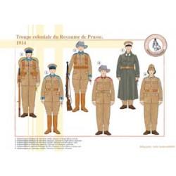 Kolonialtruppe des Königreichs Preußen, 1914