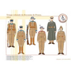 Troupe Coloniale du Royaume de Prusse, 1914