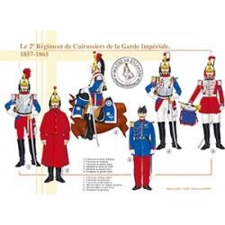 Le 2ème Régiment de Cuirassiers de la Garde Impériale, 1857-1865