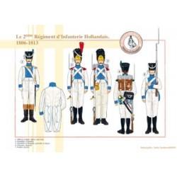 Das 2. Holländische Infanterieregiment, 1806-1813
