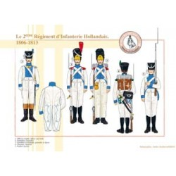 Le 2ème Régiment d'Infanterie Hollandais, 1806-1813