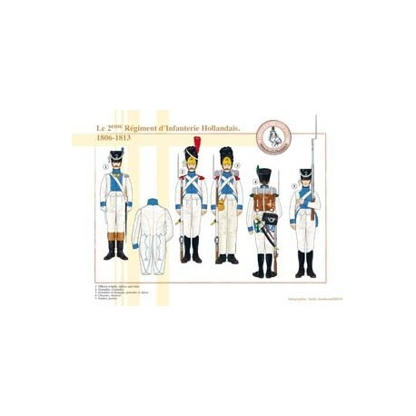 The 2nd Dutch Infantry Regiment, 1806-1813