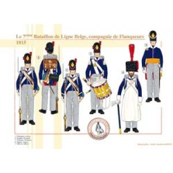 The 7th Belgian Line Battalion, Private Company, 1815