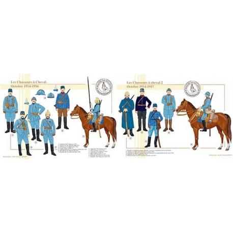 Les Chasseurs à cheval, octobre 1914-1917