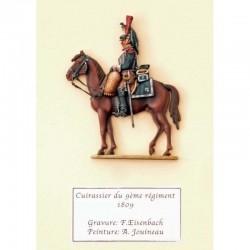 Cuirassier du 9ème régiment, 1809