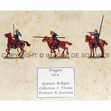 Dragons français - 1914