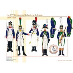 The 4th Line Infantry Regiment, 1808-1813