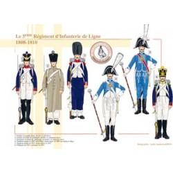 Das Infanterieregiment der 5. Linie, 1808-1810