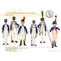 The 6th Line Infantry Regiment, 1805-1812