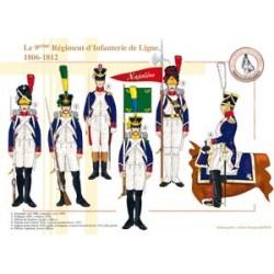 Das Infanterieregiment der 9. Linie, 1806-1812