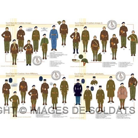 Les Chars de Combat, 1935-1940