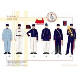 Französisch Engineering (2), 1900-1914