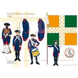 Royal Artillerie en Amérique, 1780