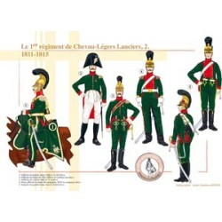 Das 1. Regiment Chevau-Légers Lanciers (2), 1811-1815