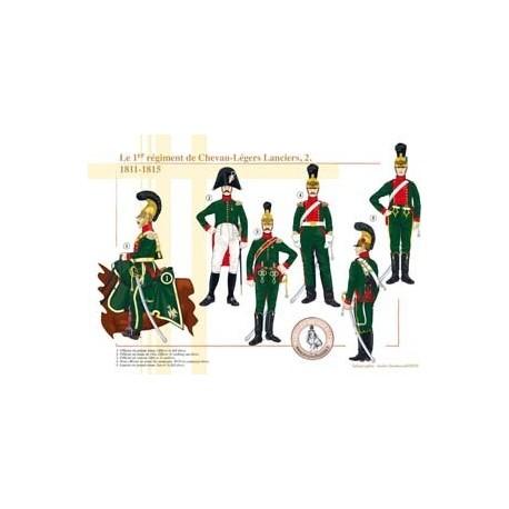 Le 1er régiment de Chevau-Légers Lanciers (2), 1811-1815