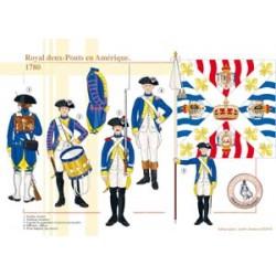 Royal deux-Ponts en Amérique, 1780