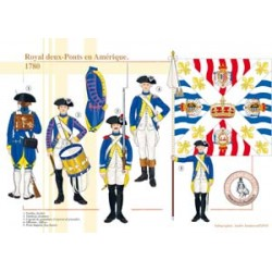"The regiment ""Royal Deux-Ponts"" in America, 1780"
