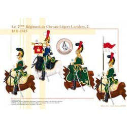 Das 2. Regiment Chevau-Légers Lanciers (2), 1811-1815