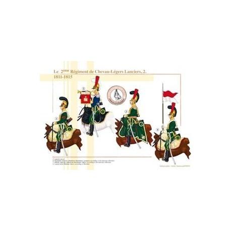 Le 2ème Régiment de Chevau-Légers Lanciers (2), 1811-1815