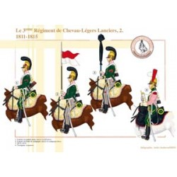 Das 3. Regiment Chevau-Légers Lanciers (2), 1811-1815