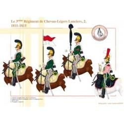 Le 3ème Régiment de Chevau-Légers Lanciers (2), 1811-1815