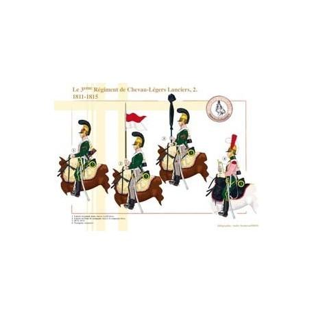 Das 3. Regiment Chevau-Légers Lanciers (2), 1811-1815