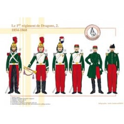 Das 1. Regiment der Drachen (2), 1854-1868