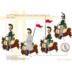 Das 4. Regiment Chevau-Légers Lanciers (2), 1811-1815