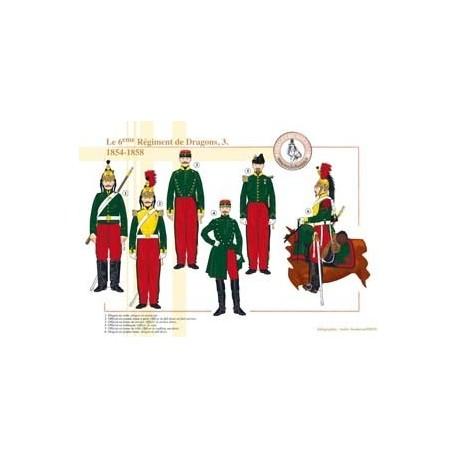 Das 6. französische Drachenregiment (3), 1854-1858