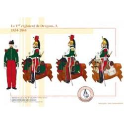 Das 1. französische Drachenregiment (3), 1854-1868