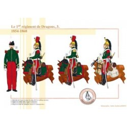 The 1st French Dragons Regiment (3), 1854-1868