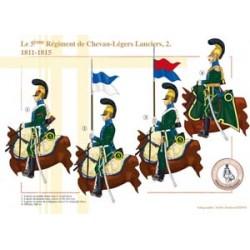 Le 5ème Régiment de Chevau-Légers Lanciers (2), 1811-1815