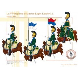 The 5nd Regiment of Chevau-Légers Lanciers (2), 1811-1815