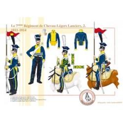 Le 7ème Régiment de Chevau-Légers Lanciers (2), 1811-1814