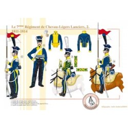 The 7nd Regiment of Chevau-Légers Lanciers (2), 1811-1814