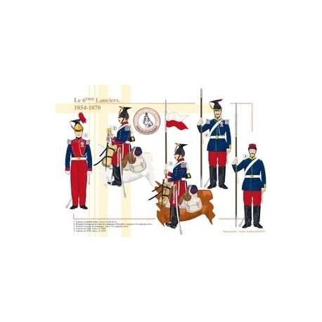 Le 6ème Lanciers, 1854-1870