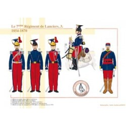 The 7th Lancers (3), 1854-1870