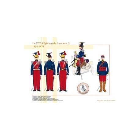 Le 7ème Lanciers (3), 1854-1870
