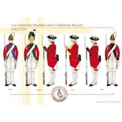 Irische Regimenter in der französischen Royal Infantry, 1762-1779