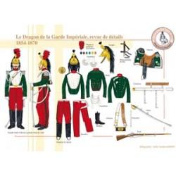 Der Drache der französischen kaiserlichen Garde, Überprüfung der Details, 1854-1870