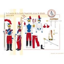 Der lancier der französischen Kaiserlichen Bewachung, details, 1854-1870